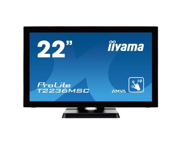 iiyama T2236MSC dotykowy czarny - 281145 - zdjęcie