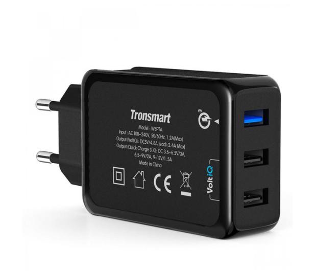 Tronsmart Ładowarka sieciowa 3 x USB 42W Quick Charge 3.0 - 371172 - zdjęcie 2
