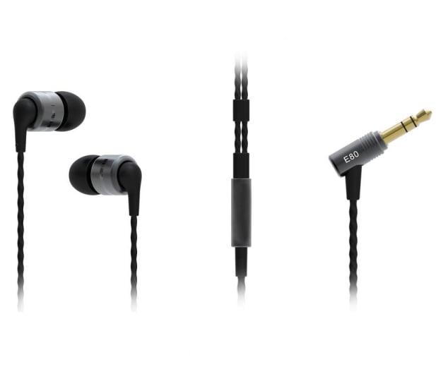 SoundMagic E80 Black-Silver - 370575 - zdjęcie 2