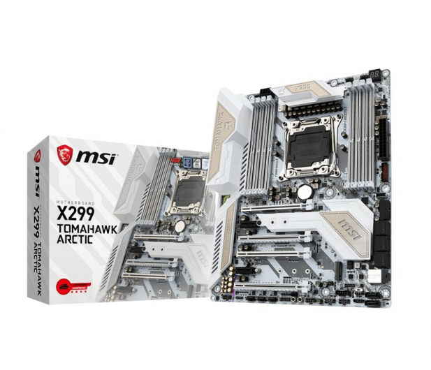 MSI X299 TOMAHAWK ARCTIC (DDR4) - 370804 - zdjęcie