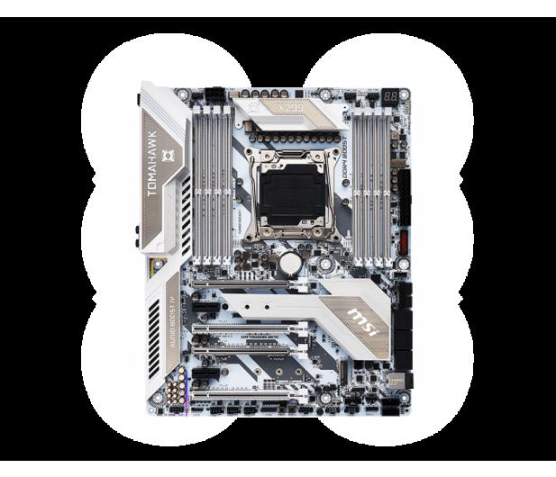 MSI X299 TOMAHAWK ARCTIC (DDR4) - 370804 - zdjęcie 4