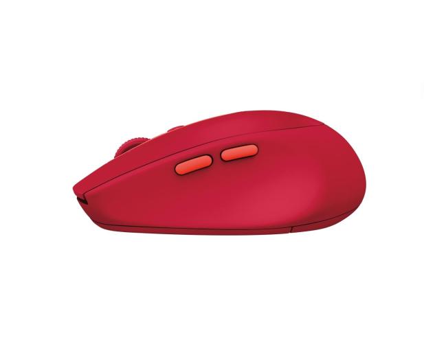 Logitech M590 Multi Device Silent rubinowy - 372044 - zdjęcie 4