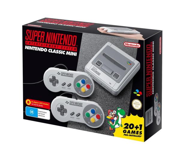 Nintendo Classic Mini: SNES 2xPAD + 21 GIER - 371800 - zdjęcie