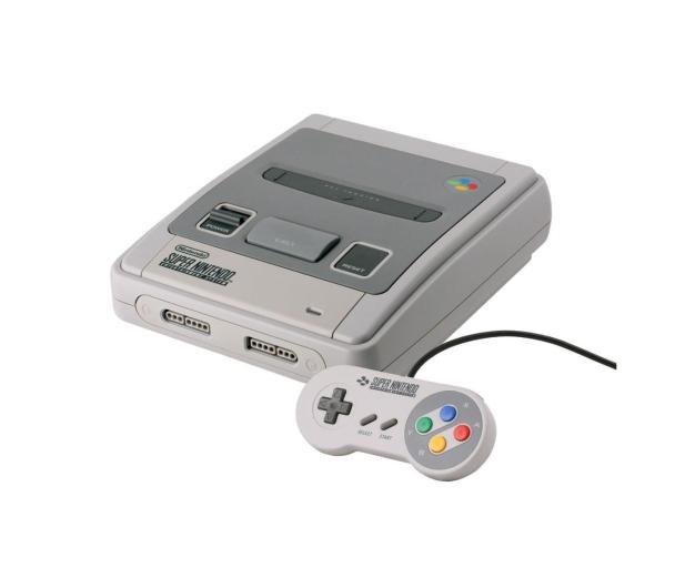 Nintendo Classic Mini: SNES 2xPAD + 21 GIER - 371800 - zdjęcie 2