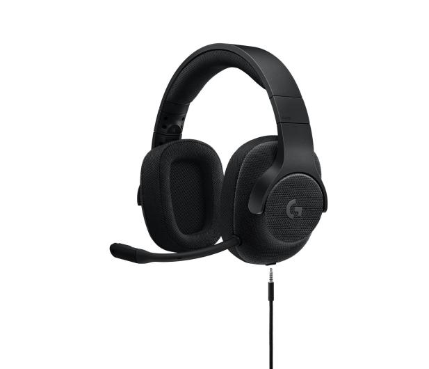 Logitech G433 Gaming Headset (Czarne)  - 368361 - zdjęcie