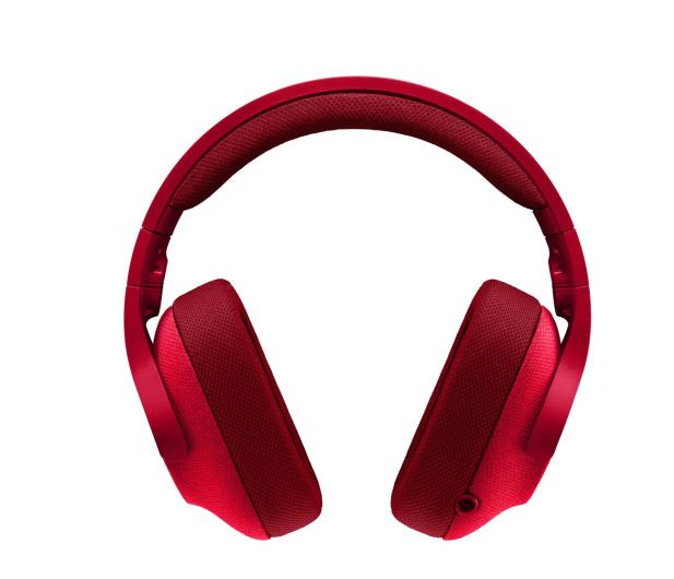 Logitech G433 Czerwone - 368360 - zdjęcie 3
