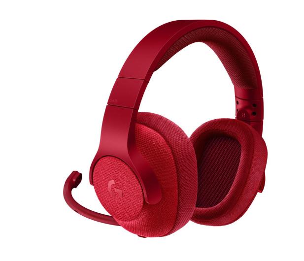 Logitech G433 Czerwone - 368360 - zdjęcie 2