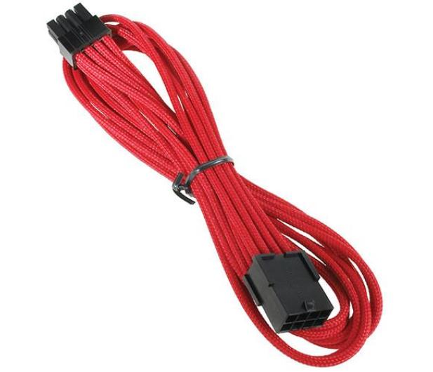 Bitfenix Przedłużacz 8 Pin 45cm czerwony - 368727 - zdjęcie 2