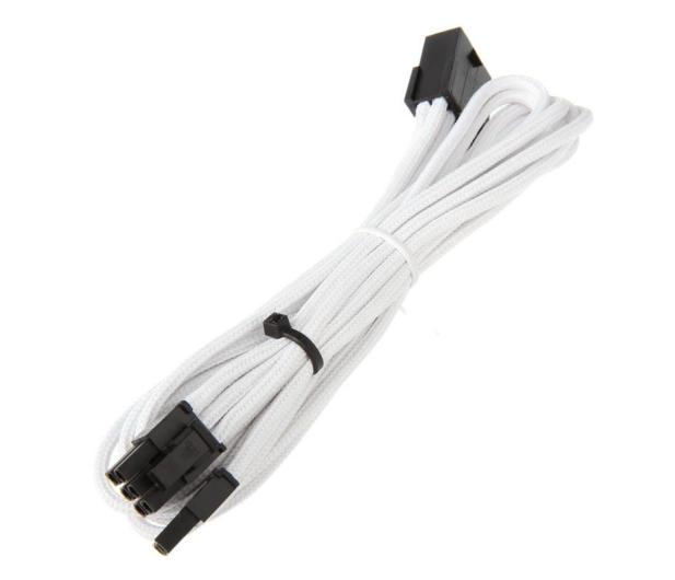 Bitfenix Przedłużacz 6+2 Pin PCIe 45cm biały - 368748 - zdjęcie 2