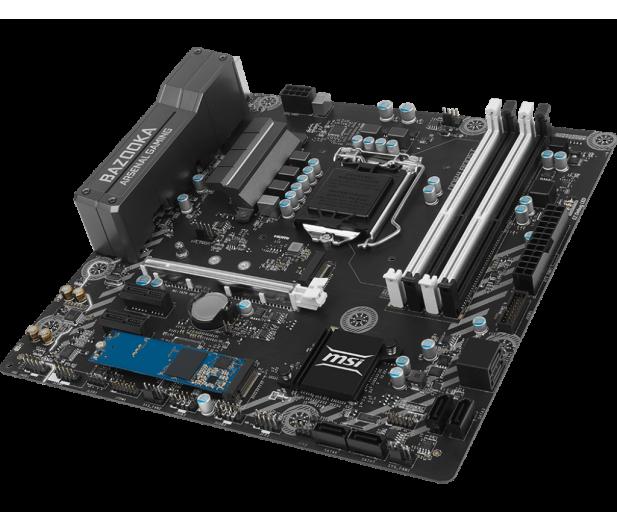 MSI B250M BAZOOKA OPT + i5-7400 + Crucial 8GB 2400MHz - 390818 - zdjęcie 5