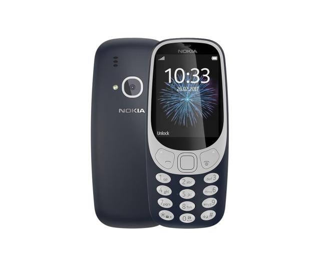 Nokia 3310 Dual SIM granatowy - 362999 - zdjęcie