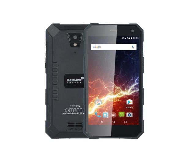 myPhone Hammer ENERGY LTE Dual SIM czarny - 338804 - zdjęcie