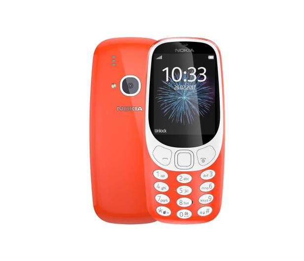 Nokia 3310 Dual SIM czerwony - 363001 - zdjęcie