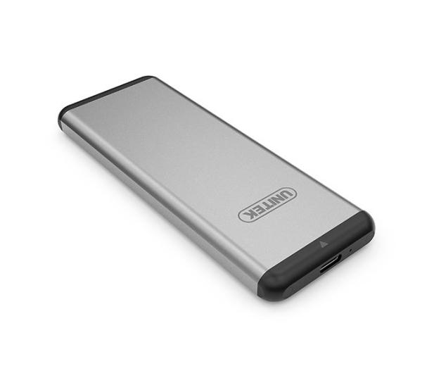 Unitek Obudowa do dysku M.2 (USB-C, aluminium, srebrny) - 373496 - zdjęcie