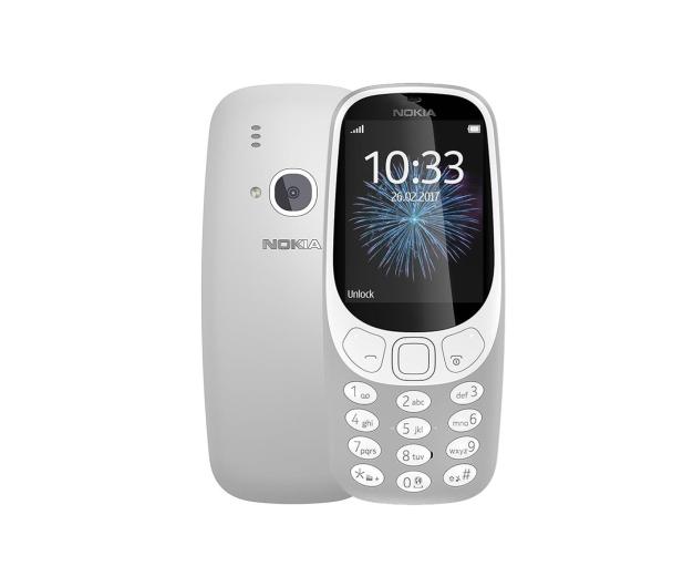 Nokia 3310 Dual SIM szary - 369256 - zdjęcie
