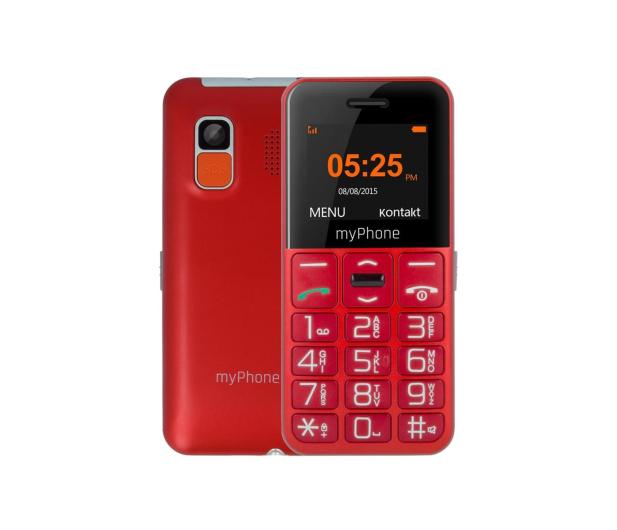 myPhone Halo EASY czerwony - 373255 - zdjęcie