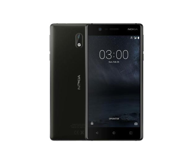 Nokia 3 Dual SIM czarny  - 357293 - zdjęcie