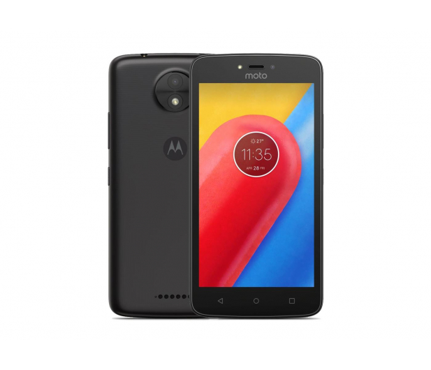 Motorola Moto C 16GB Dual SIM czarny - 368172 - zdjęcie