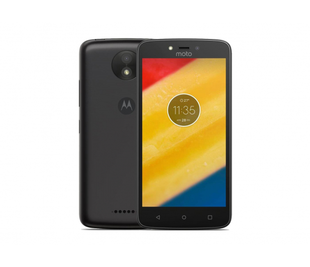 Motorola Moto C Plus 2/16GB Dual SIM 4000mAh czarny  - 368179 - zdjęcie