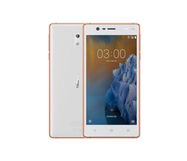 Nokia 3 Dual SIM miedziany biały - 357297 - zdjęcie