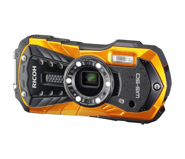 Ricoh WG-50 pomarańczowy  - 373634 - zdjęcie