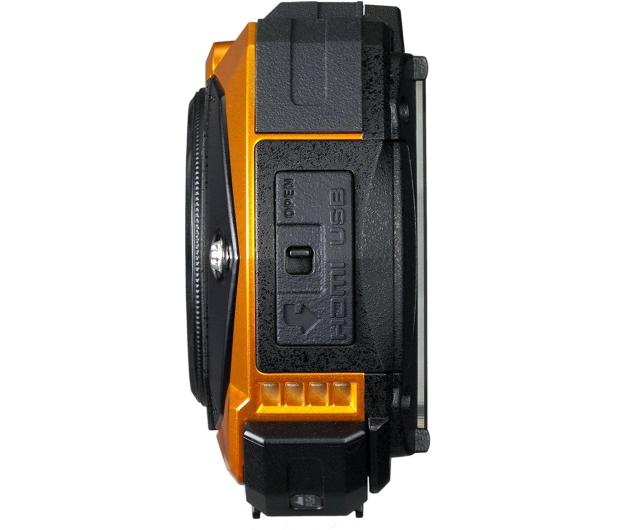 Ricoh WG-50 pomarańczowy  - 373634 - zdjęcie 3