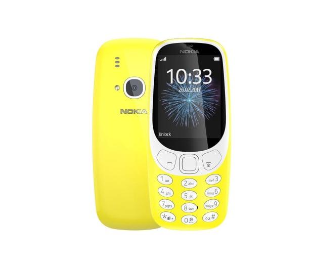 Nokia 3310 Dual SIM żółty 3G - 362997 - zdjęcie