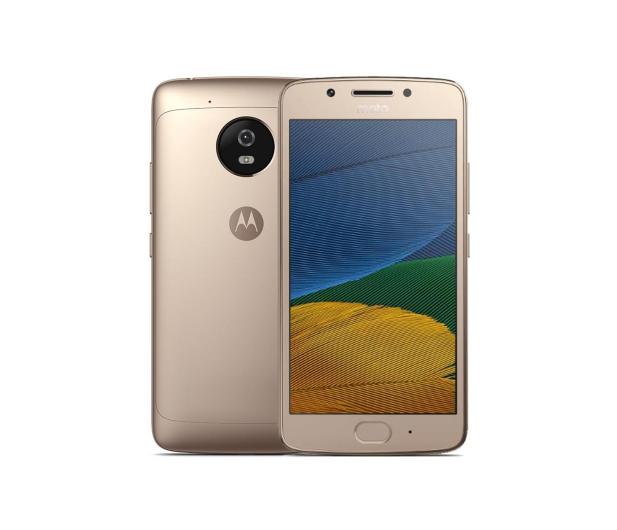 Motorola Moto G5 FHD 3/16GB Dual SIM złoty - 356682 - zdjęcie