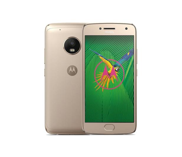 Motorola Moto G5 Plus 3/32GB Dual SIM złoty  - 363436 - zdjęcie