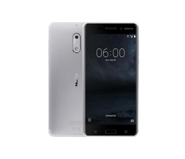 Nokia 6 Dual SIM srebrnobiały - 357309 - zdjęcie 1