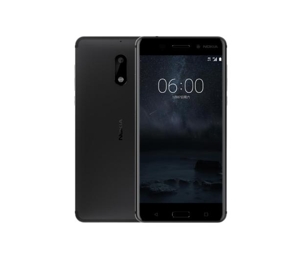 Nokia 6 Dual SIM czarny - 357308 - zdjęcie
