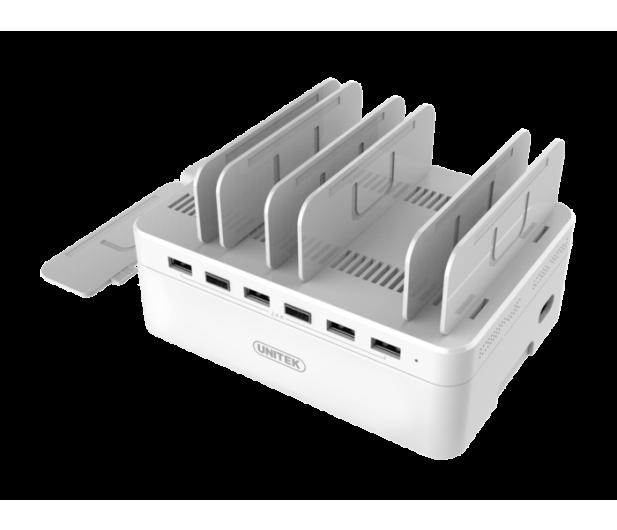 Unitek Stacja ładująca 6 x USB 2,4A 60W - 373498 - zdjęcie