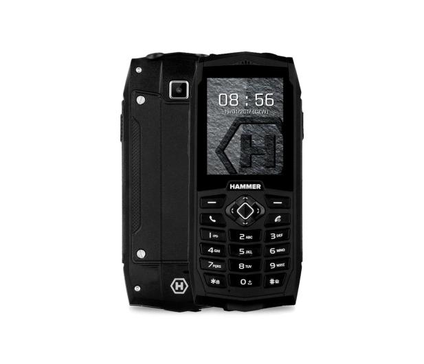 myPhone HAMMER 3 Dual SIM czarny - 356588 - zdjęcie