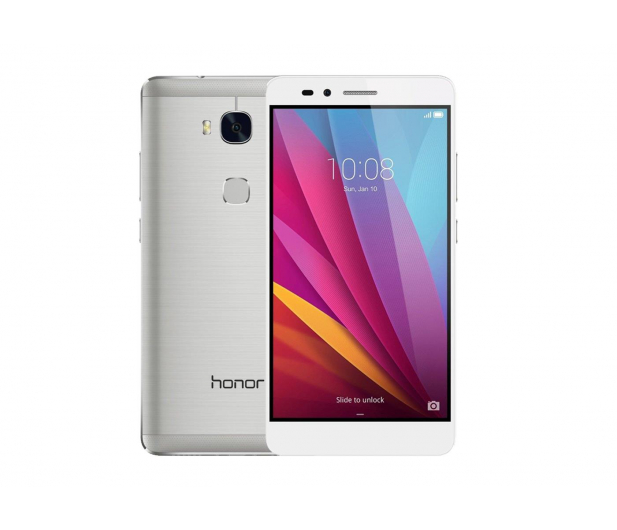 Huawei Honor 5X LTE Dual SIM srebrny - 282199 - zdjęcie