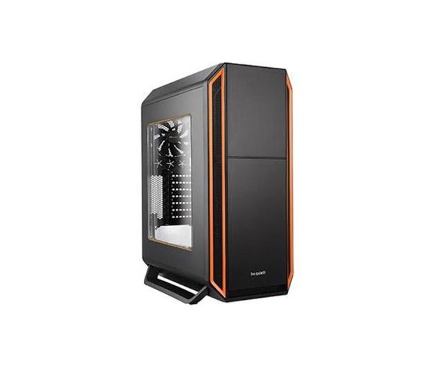 be quiet! Silent Base 800 czarno-pomarańczowa z oknem - 252390 - zdjęcie
