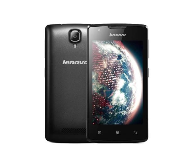Lenovo A Dual SIM czarny - 316084 - zdjęcie