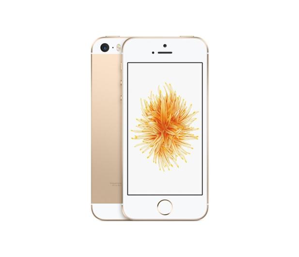 Apple iPhone SE 128GB Gold - 356917 - zdjęcie