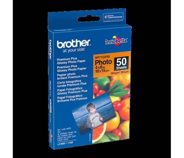 Brother Papier fotograficzny glossy 50 szt. (10x15CM 260G) - 78179 - zdjęcie