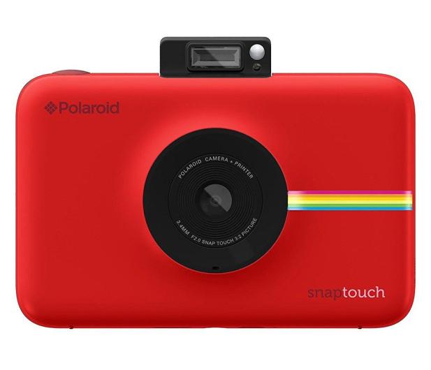 Polaroid Snap Touch czerwony + wkłady - 373886 - zdjęcie