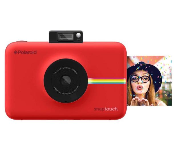 Polaroid Snap Touch czerwony + wkłady - 373886 - zdjęcie 3