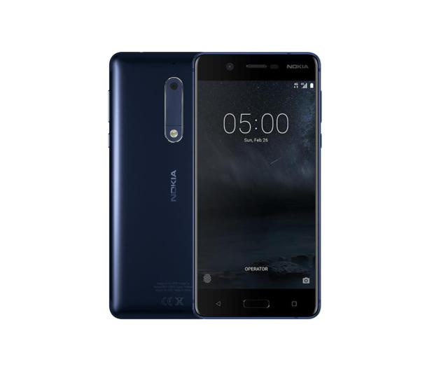 Nokia 5 Dual SIM niebieski - 357306 - zdjęcie