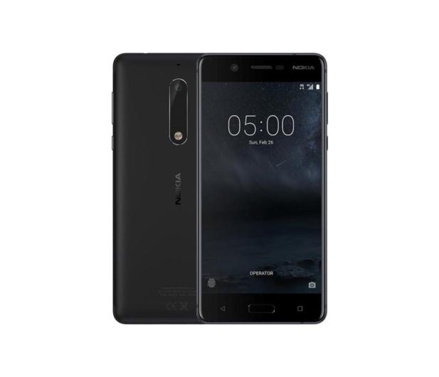 Nokia 5 Dual SIM czarny - 357302 - zdjęcie