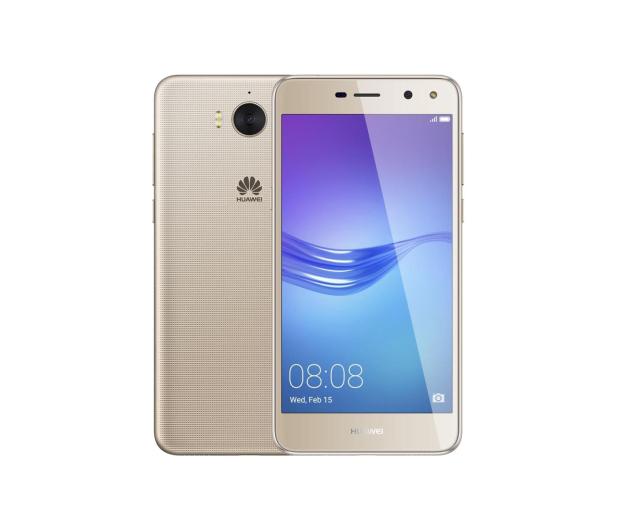 Huawei Y6 2017 LTE Dual SIM złoty - 371466 - zdjęcie