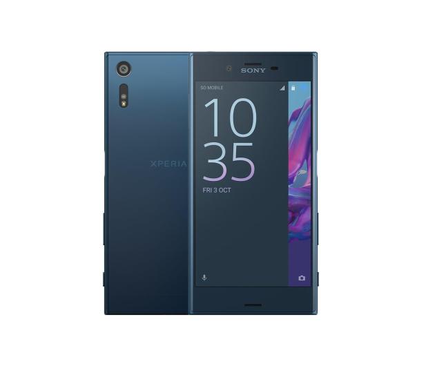 Sony Xperia XZ F8331 Forest Blue - 324960 - zdjęcie