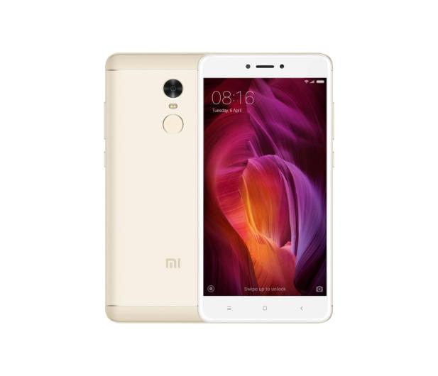 Xiaomi Redmi Note 4 4/64GB Dual SIM LTE Gold - 357620 - zdjęcie