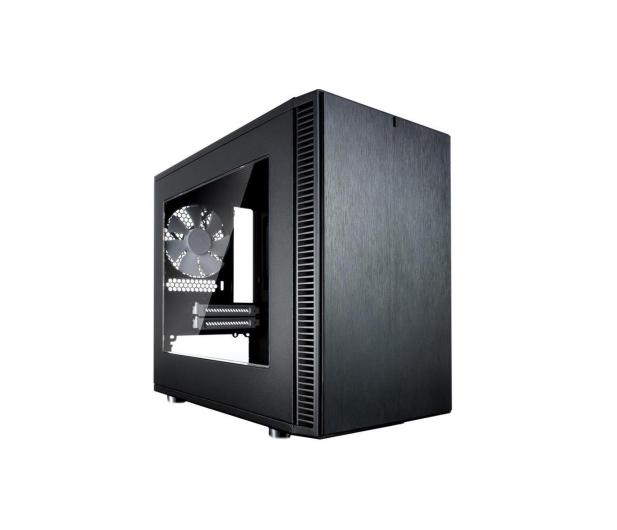 Fractal Design Define NANO S Mini czarna z oknem - 331212 - zdjęcie