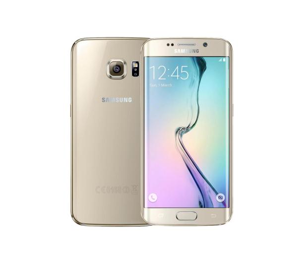 Samsung Galaxy S6 edge G925F 32GB Platynowe złoto - 230549 - zdjęcie