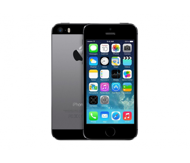Apple iPhone 5S 16GB Space Gray - 165237 - zdjęcie