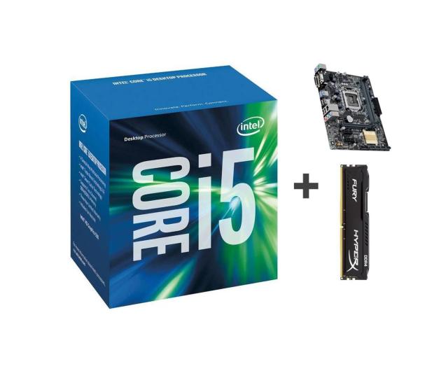 Intel i5-6400 + ASUS H110M-K + Kingston 8GB 2133MHz   - 309174 - zdjęcie