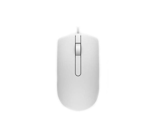 Dell MS116 optyczna biała USB - 341674 - zdjęcie